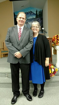 Pastor Paul with Pam